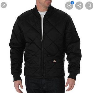 MENS DICKIES NYLON DIAMOND QUILTED JACKET 4X